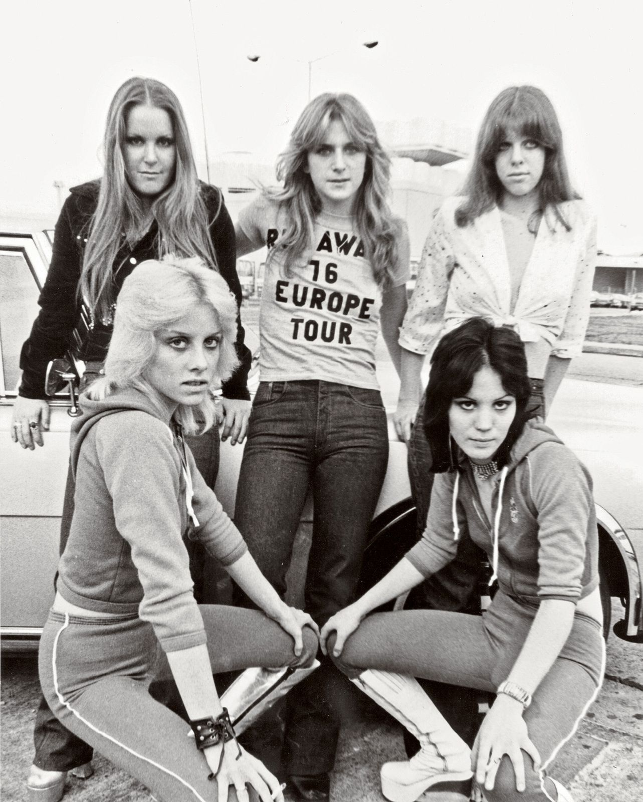Jackie Fox and The Runaways