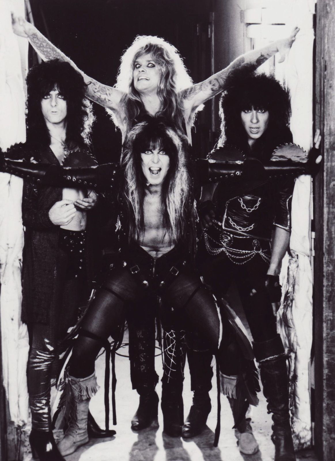 Blackie Lawless, Chris Holmes, Steve Riley, Randy Piper (W.A.S.P.)