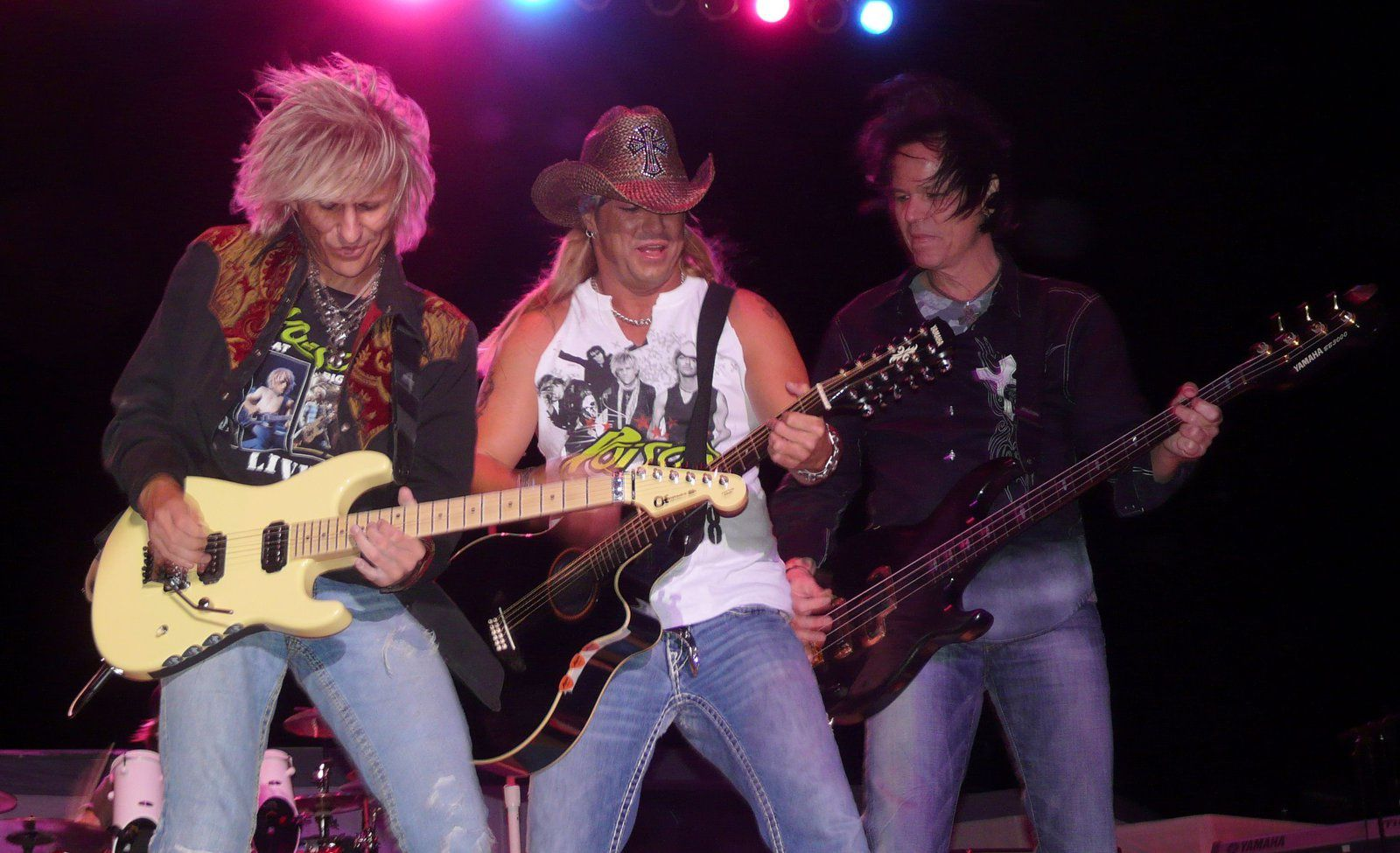 Bobby Dall, CC DeVille and Bret Michaels, Poison (2008)