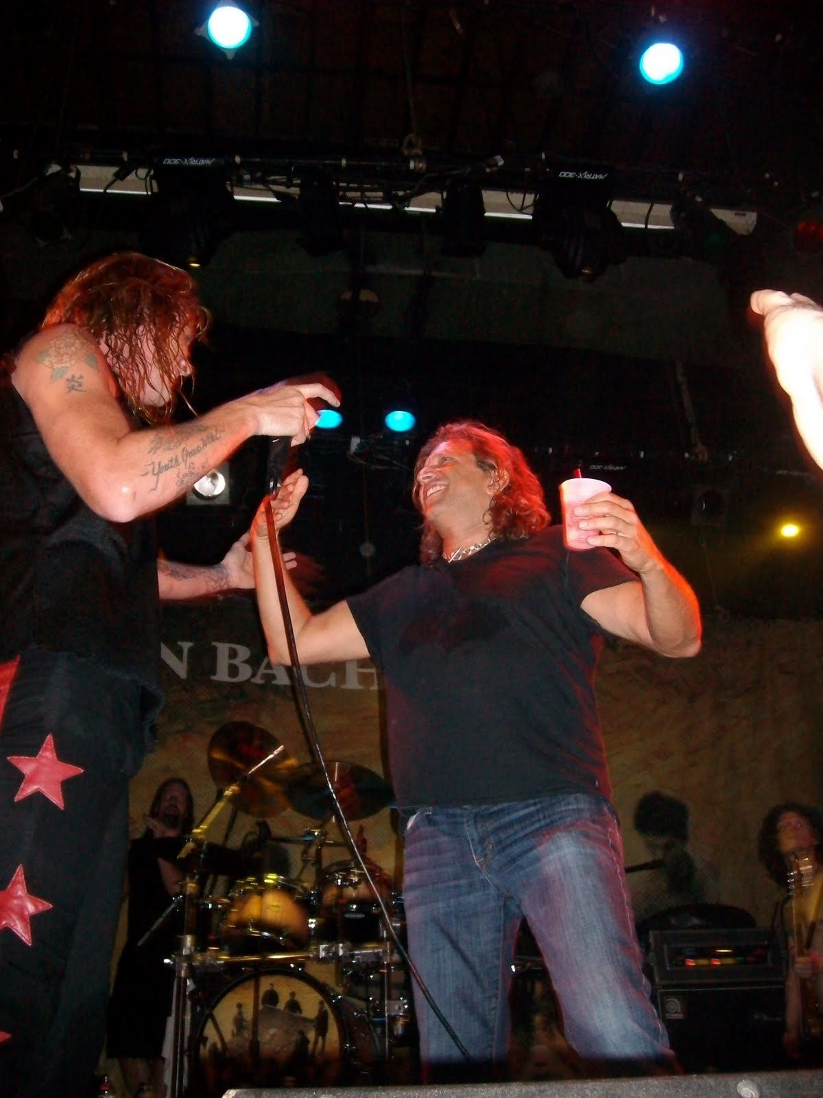 Rob Affuso and Sebastian Bach, Skid Row