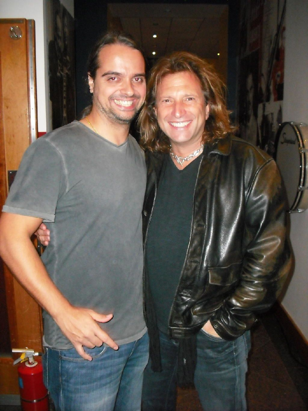 Rob Affuso (Skid Row) and fan