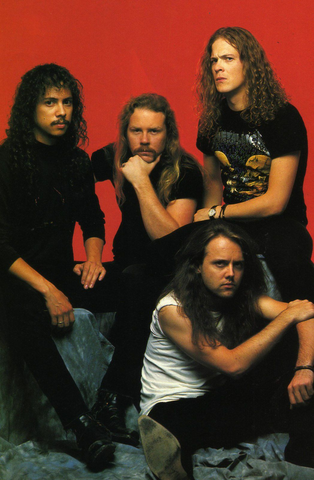 Jason Newsted, James Hetfield, Lars Ulrich and Kirk Hammett - Metallica (1986–2001)