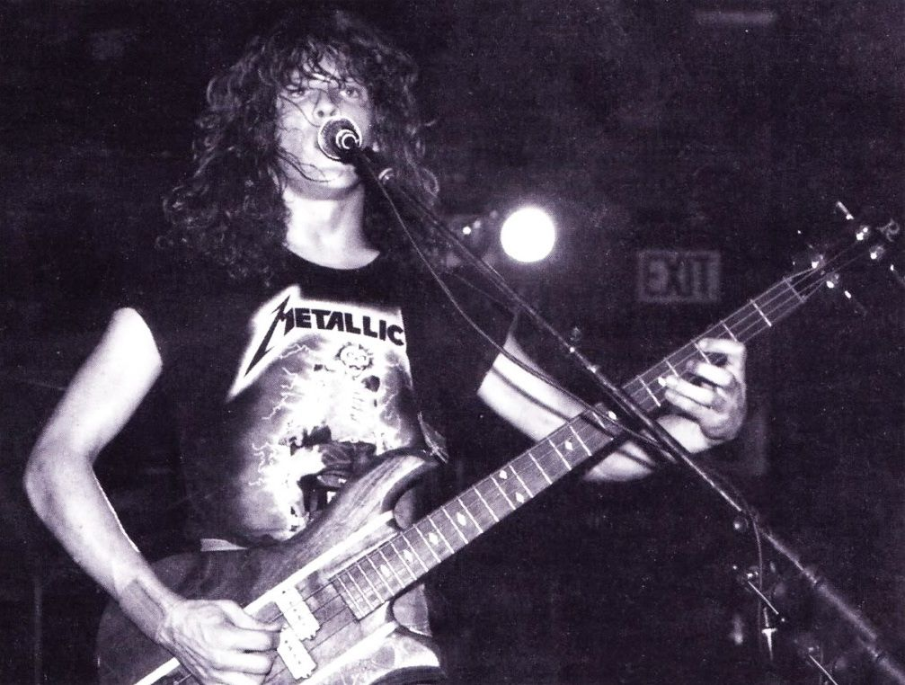 Jason Newsted before Metallica (1985)