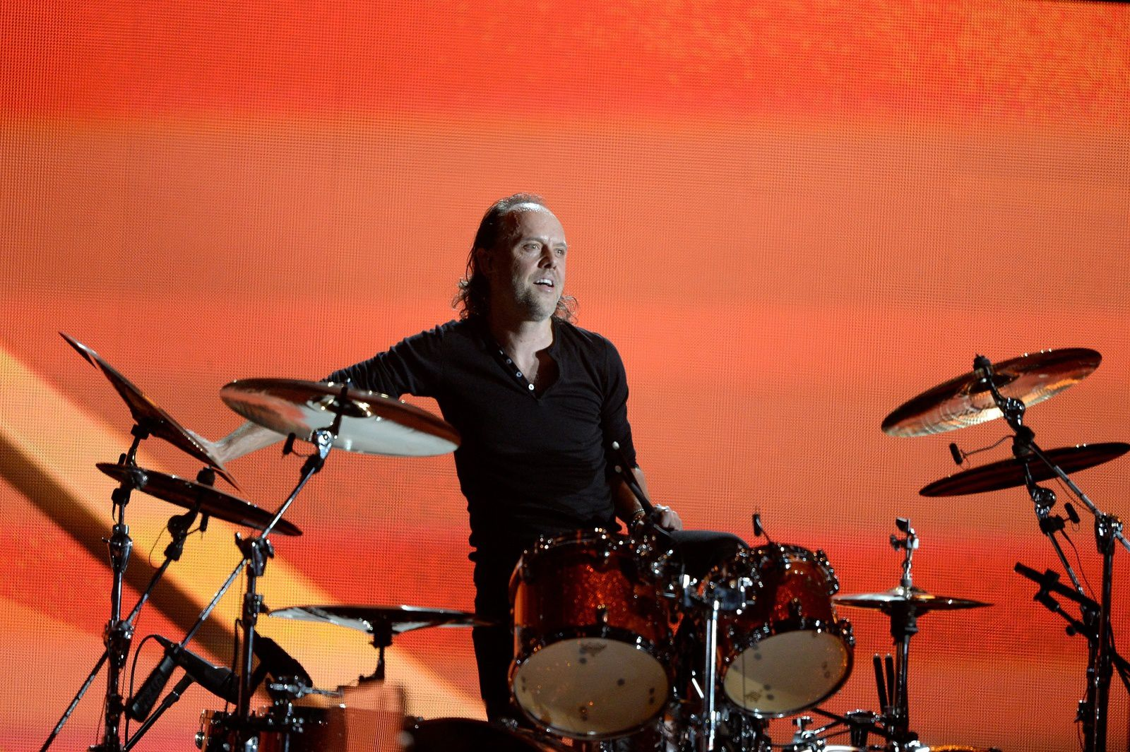 Lars Ulrich, Metallica - 56th GRAMMY Awards at Staples Center on January 26, 2014 in Los Angeles, California. (Photo by Kevork Djansezian Getty Images)