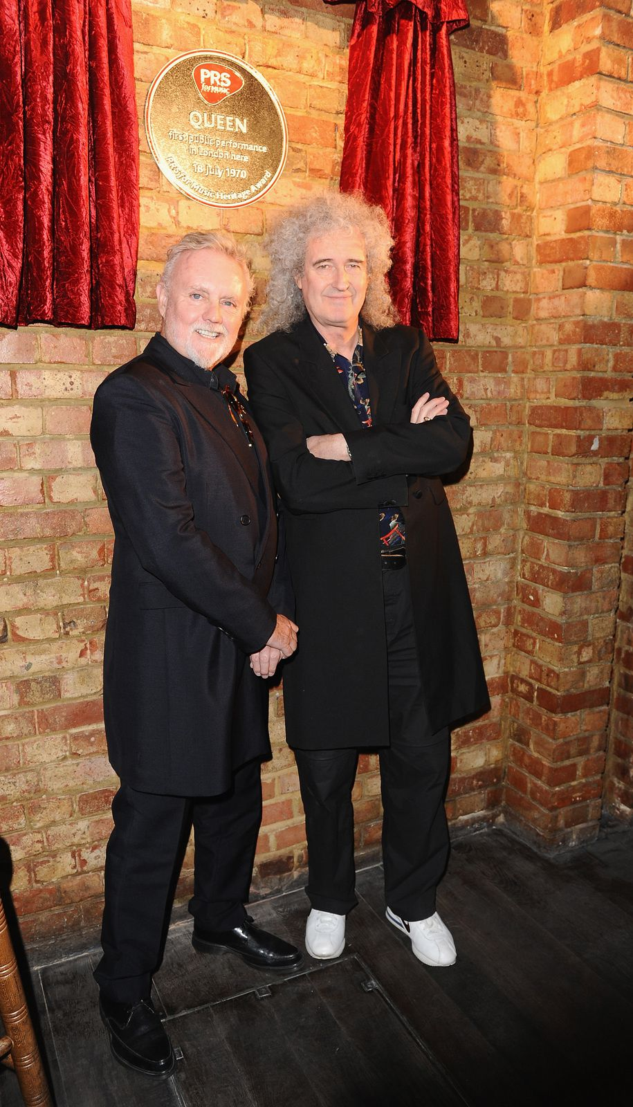 oger Taylor and Brian May, Queen (2013)