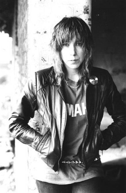 Denise Dufort, drummer of Girlschool