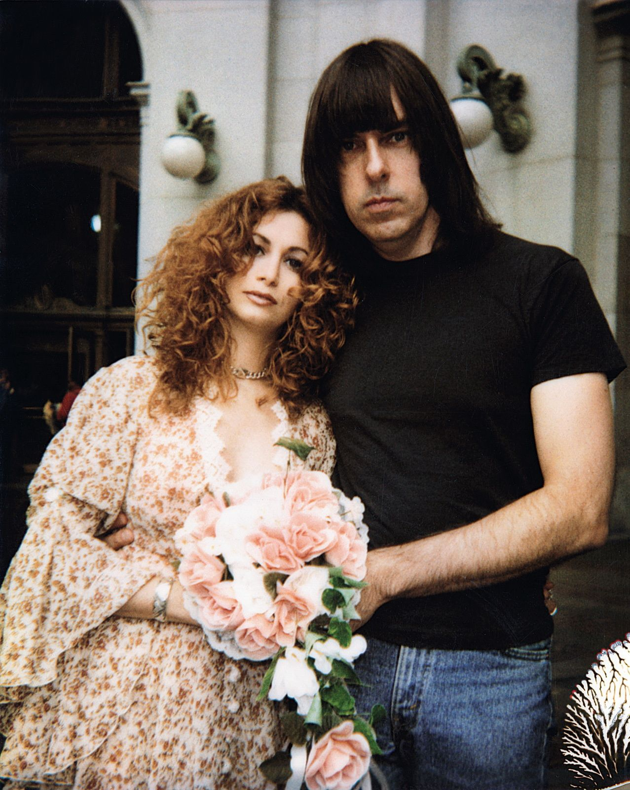 Johnny Ramone married his wife Linda in 1994