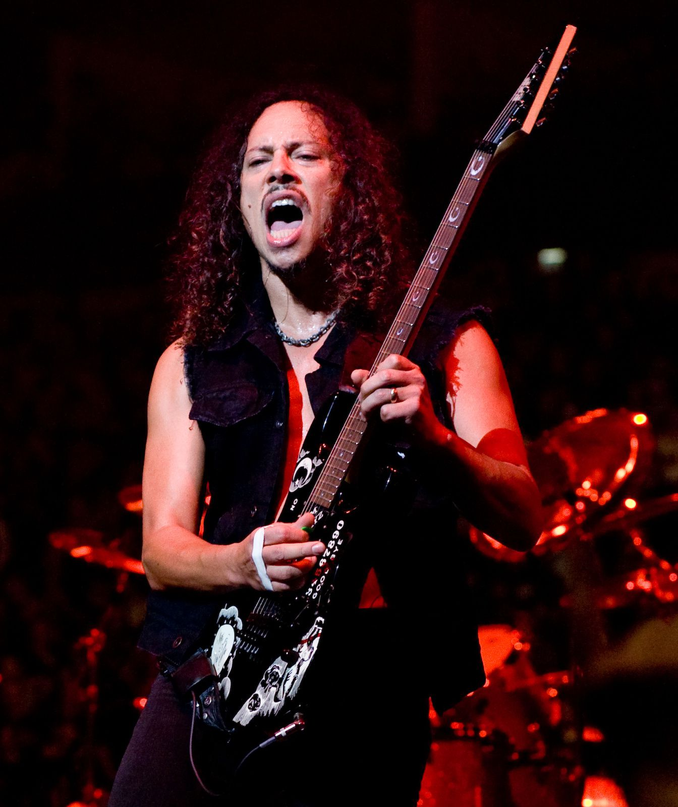 Kirk Hammett, Metallica (live in London, 2008)