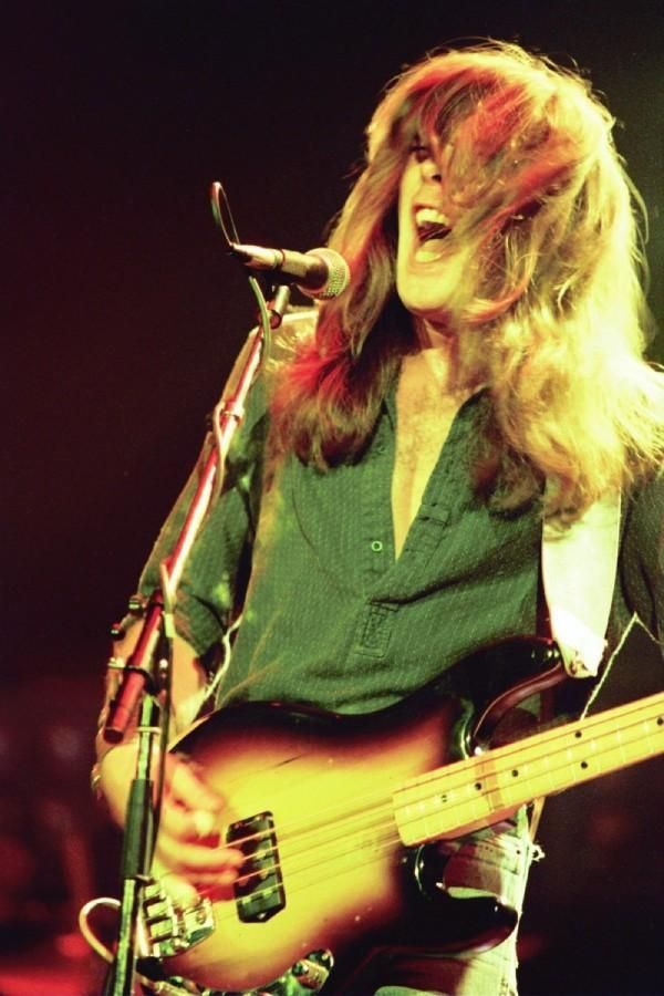Cliff Williams, bassist in Australian hard rock band AC/DC