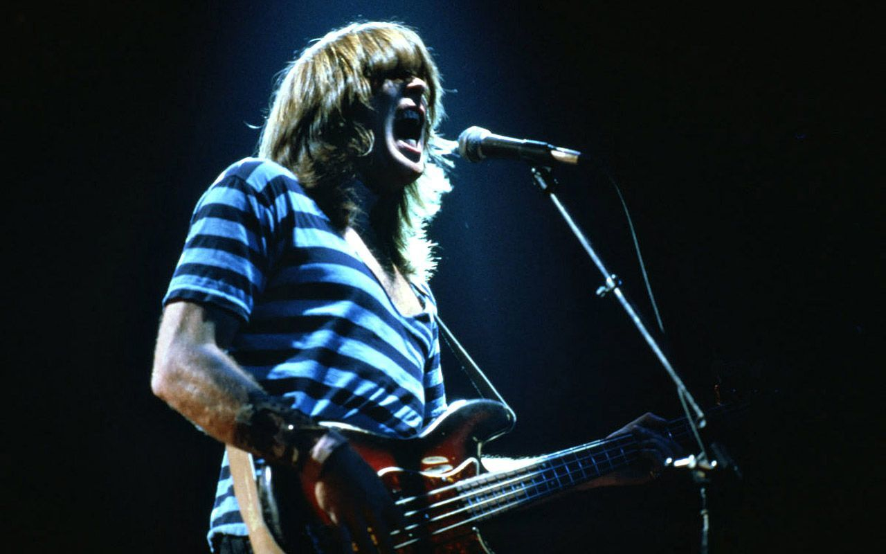 Cliff Williams, AC/DC's For Those About to Rock tour (1981)