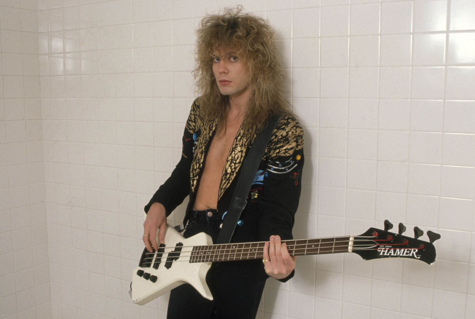 Rick Savage, bassist and one of the founding members of the English rock band, Def Leppard