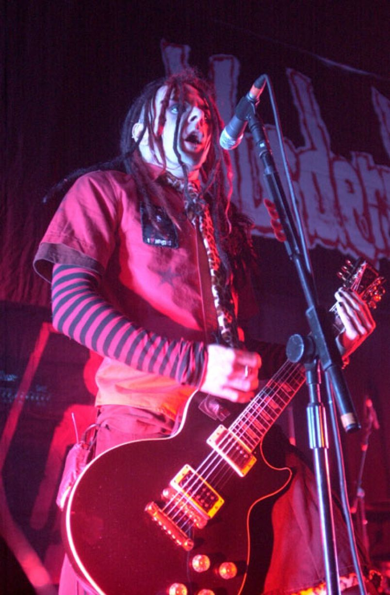 Acey Slade, Murderdolls (2002) Frankfurt, Germany - credit: Raymond T. Conway