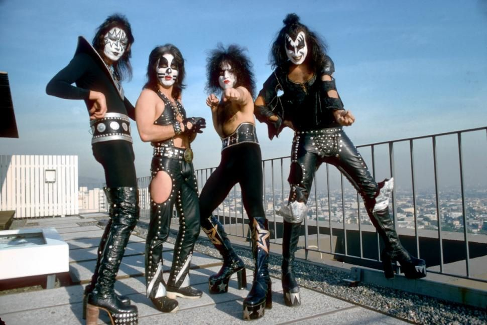 KISS in 1975