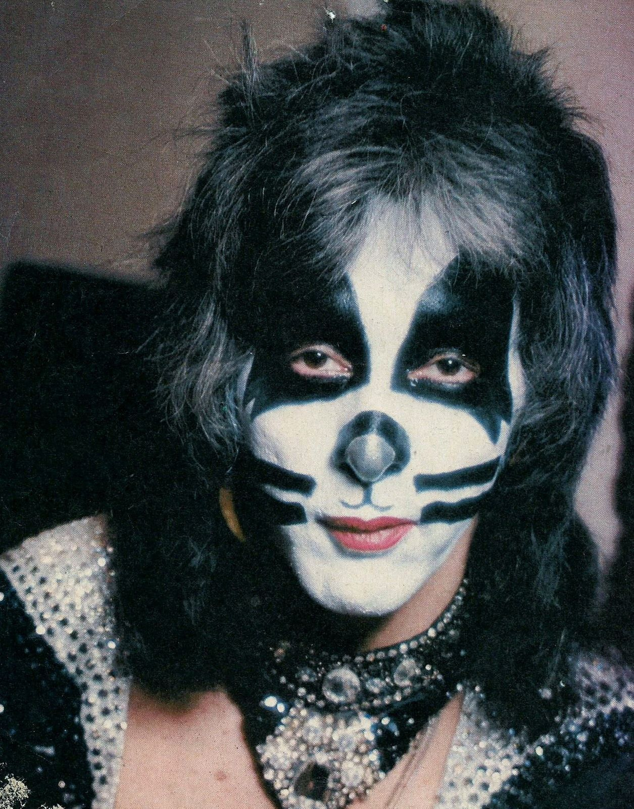 Peter Criss, co-founder and original drummer of hard rock band Kiss