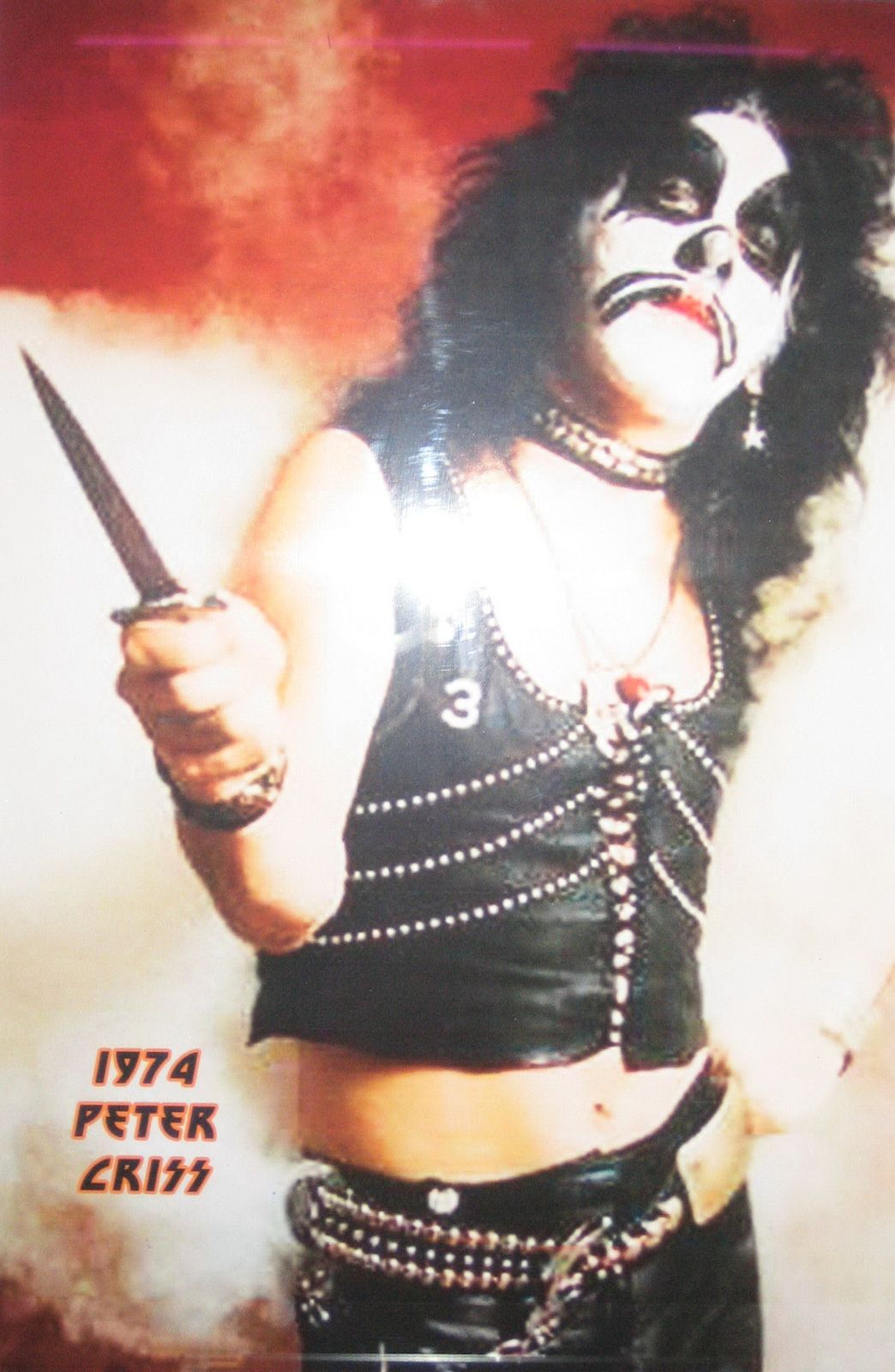 Peter Criss, KISS (1974)