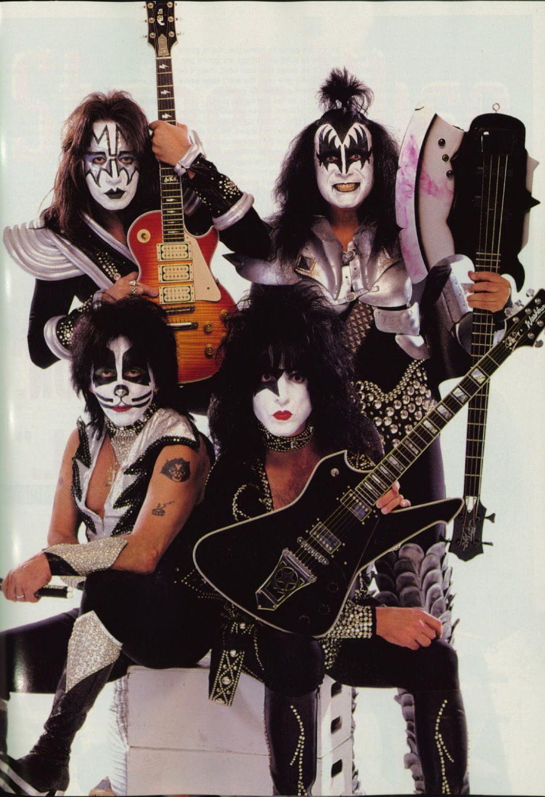 Paul Stanley (rhythm guitar, lead vocals), Gene Simmons (bass guitar, lead vocals), Ace Frehley (lead guitar, lead vocals), Peter Criss (drums, vocals) - KISS (1997)