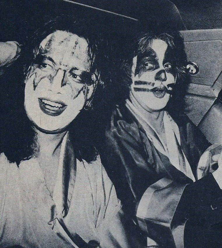 Peter Criss and Ace Frehley, KISS