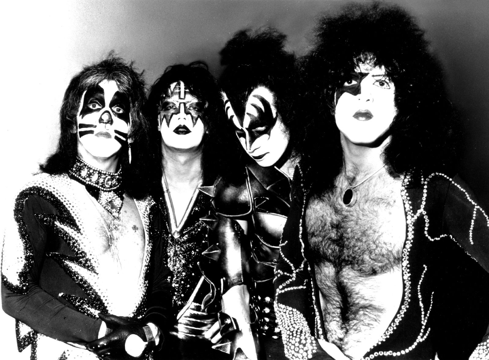 KISS, an American hard rock band