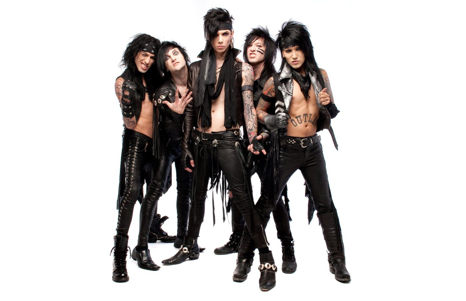 Andy Biersack and Black Veil Brides