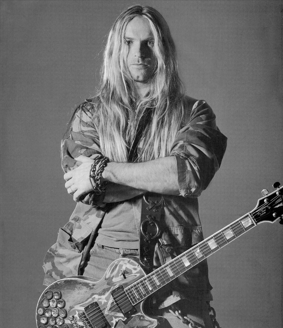 Zakk Wylde, former guitarist for Ozzy Osbourne, and founder of the heavy metal band Black Label Society