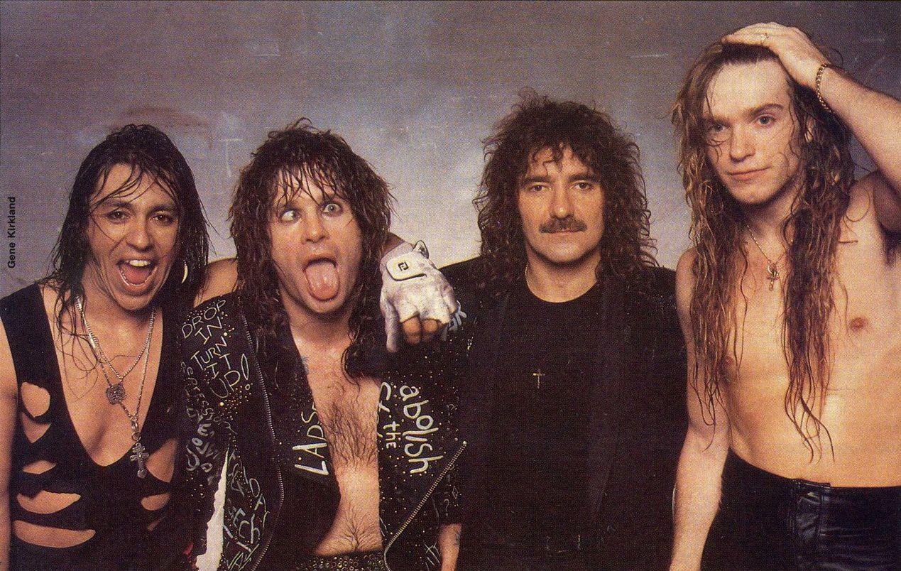 Zakk Wylde, Ozzy Osbourne, Randy Castillo and Geezer Butler