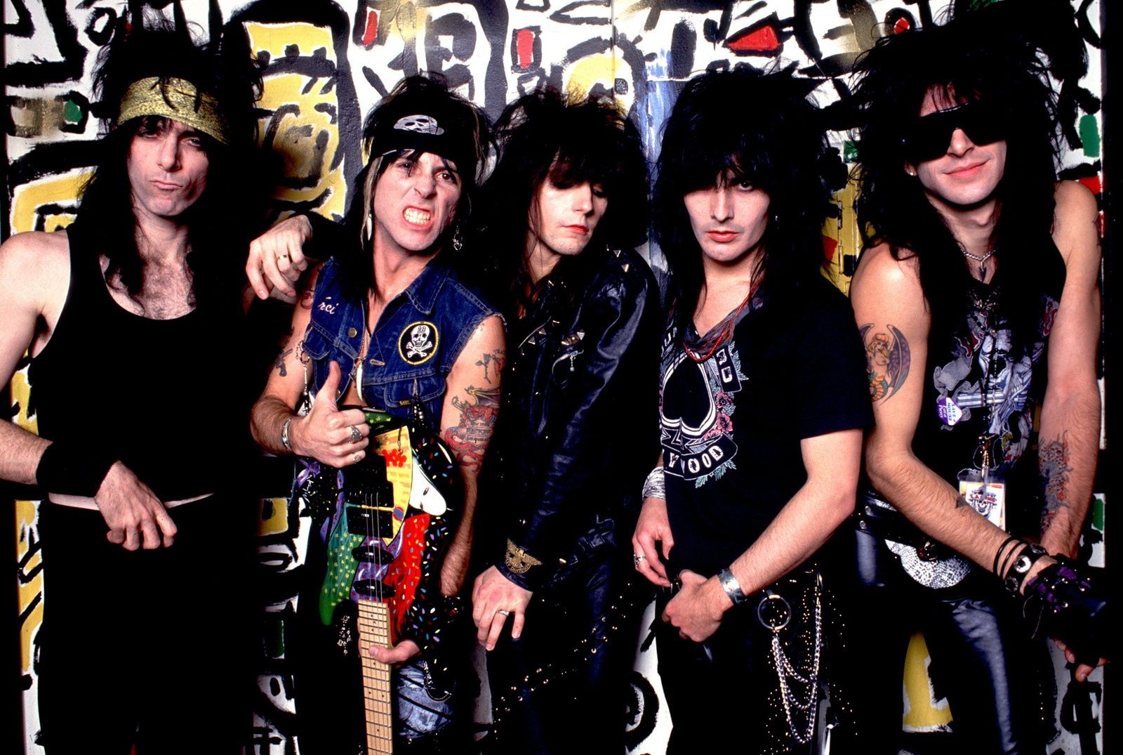 Tracii Guns, L.A. Guns (1990) - credit: Paul Natkin