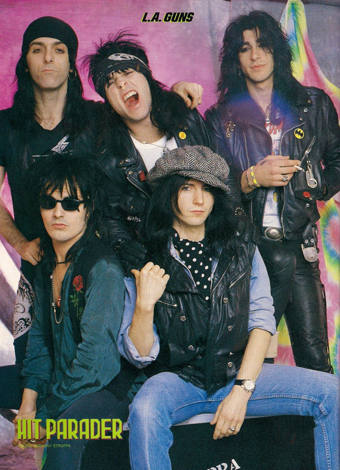 Tracii Guns, L.A. Guns - credit: Hit Parader