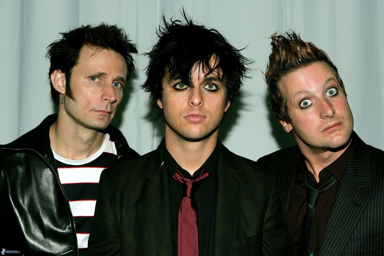 Billie Joe Armstrong, Mike Dirnt and Tré Cool: Green Day