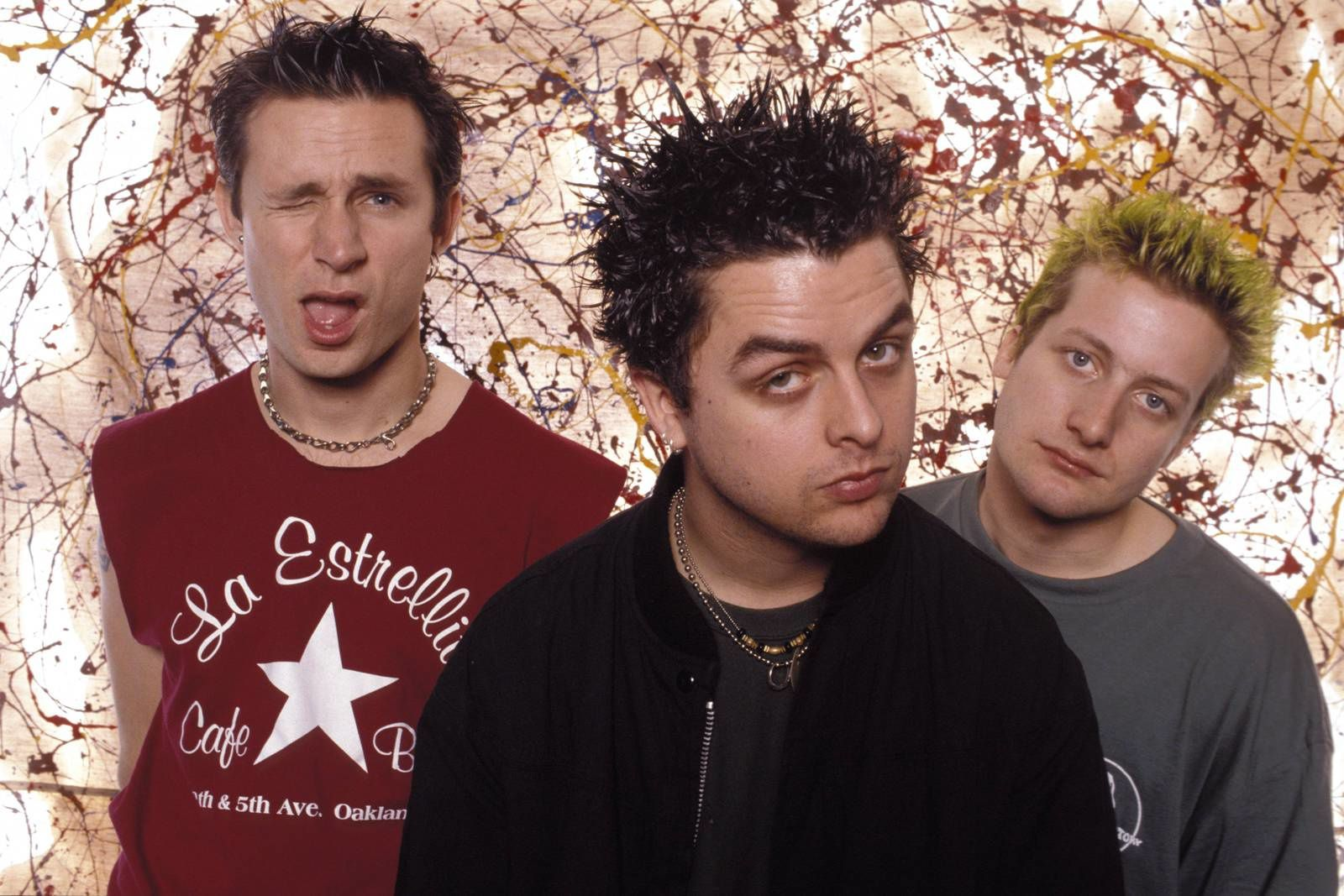 Billie Joe Armstrong, Mike Dirnt and Tré Cool: Green Day (1997)