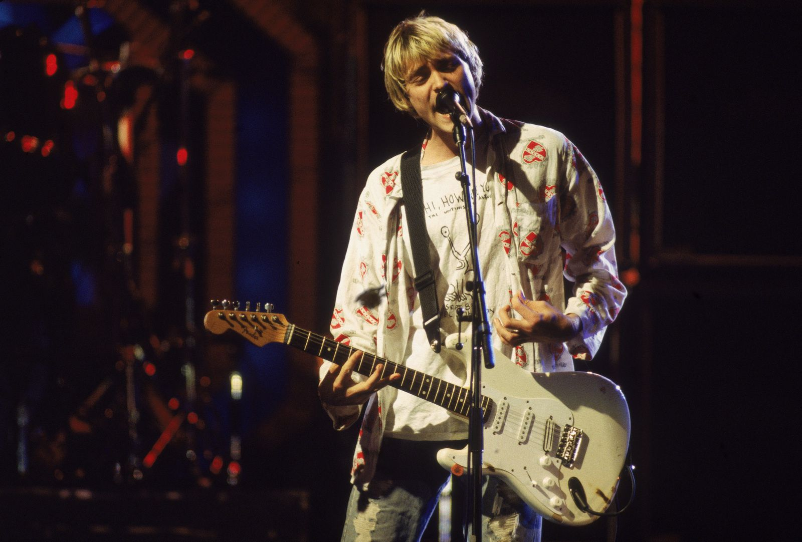 Kurt Cobain, Nirvana, Reading Festival in England (1992) - credit: Frank Micelotta - Getty Images