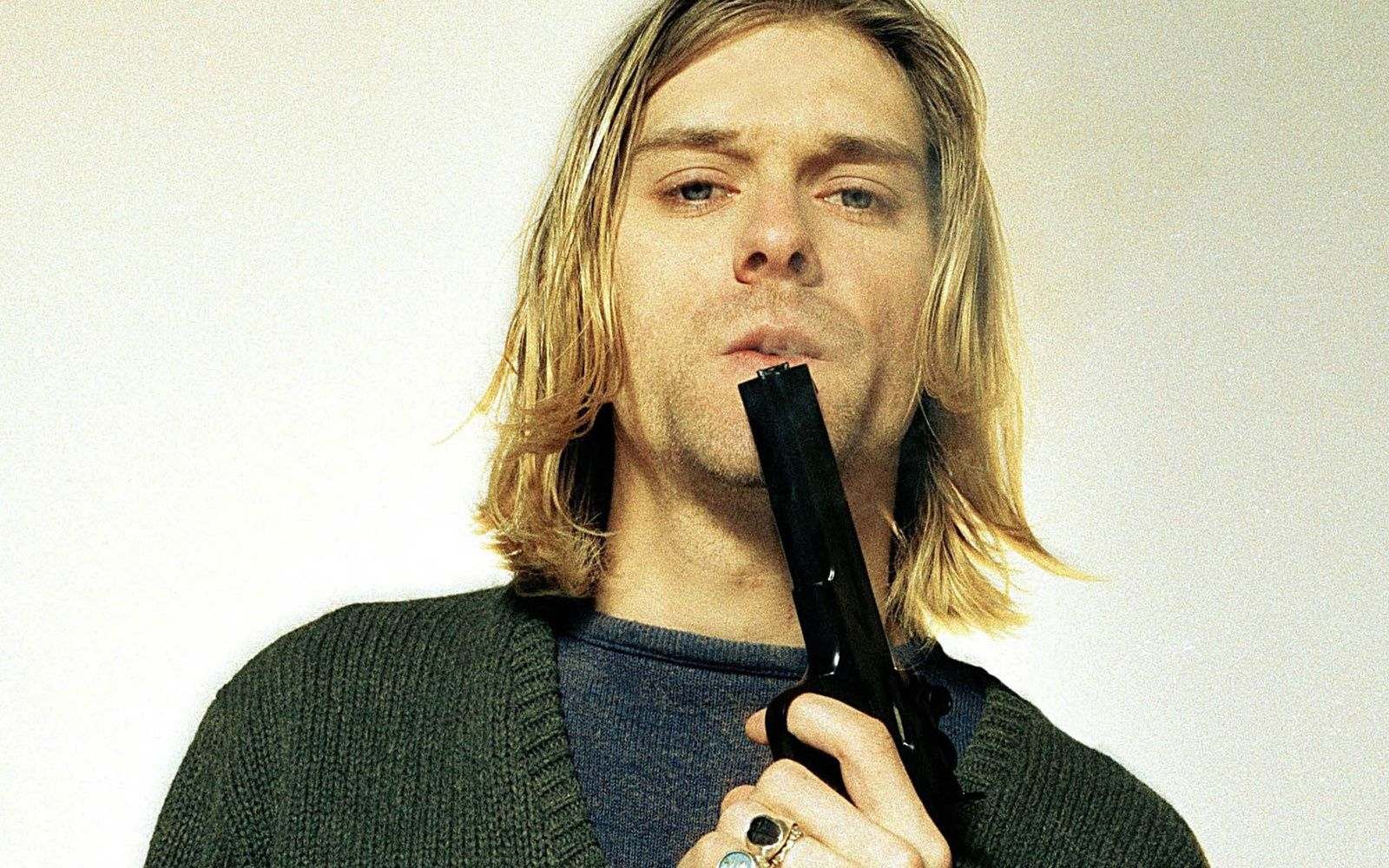"Kurt Cobain, Nirvana - ""The last shooting"" (1994), credit: Youri Lenquette"