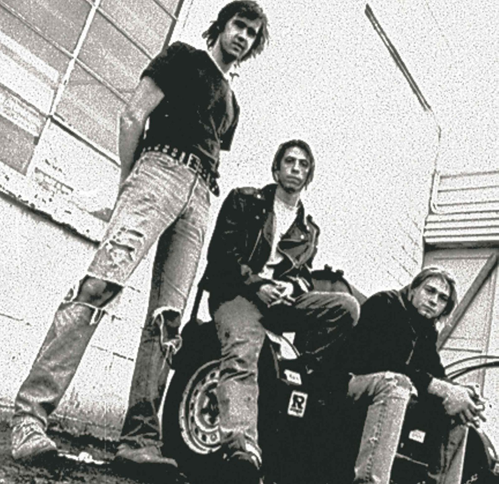 Nirvana in 1991 (from left) Krist Novoselic, Dave Grohl and Kurt Cobain
