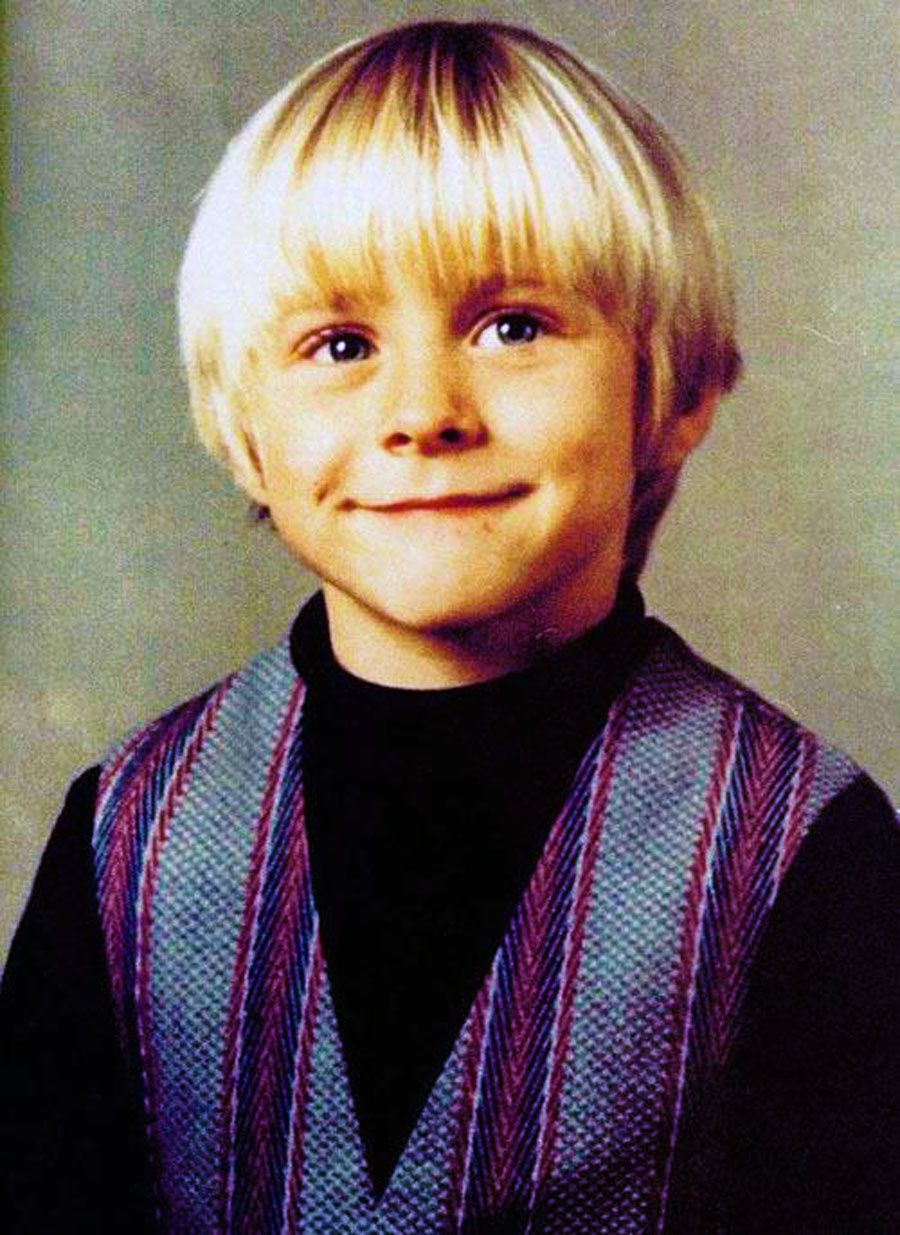 Kurt Cobain, Childhood