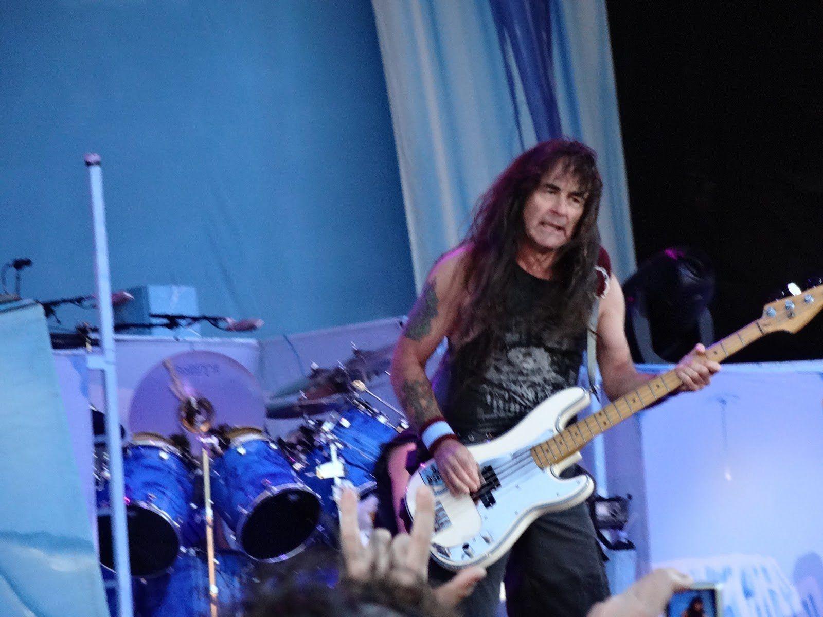 Steve Harris, Iron Maiden (Sonisphere, 2013)
