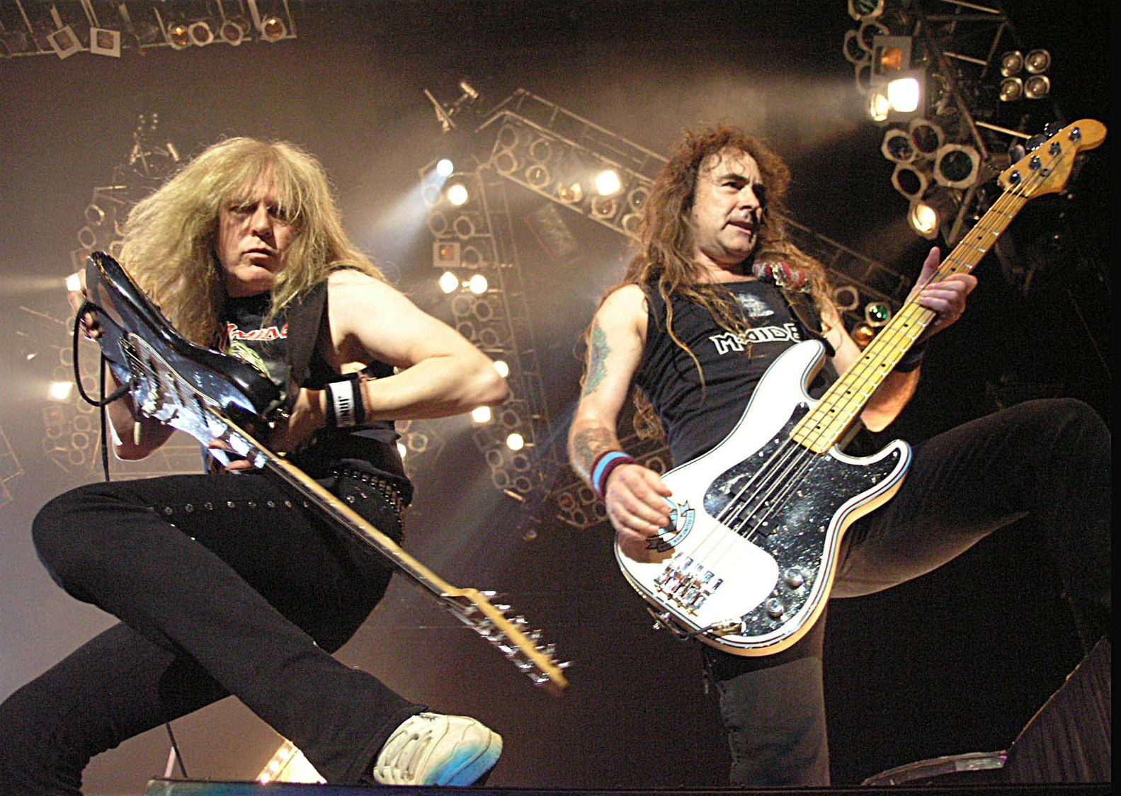 Steve Harris and Janick Gers (Iron Maiden)