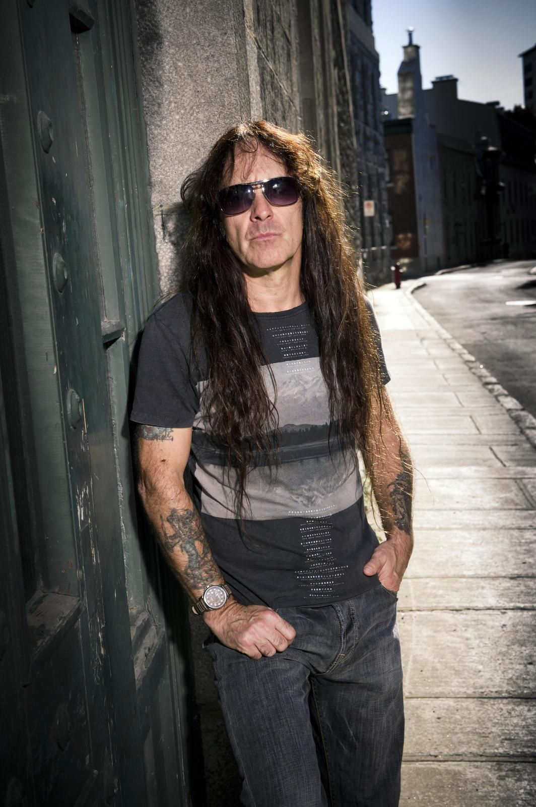 Steve Harris, bassist and founding member of Iron Maiden - Photo: John McMurtrie/EMI