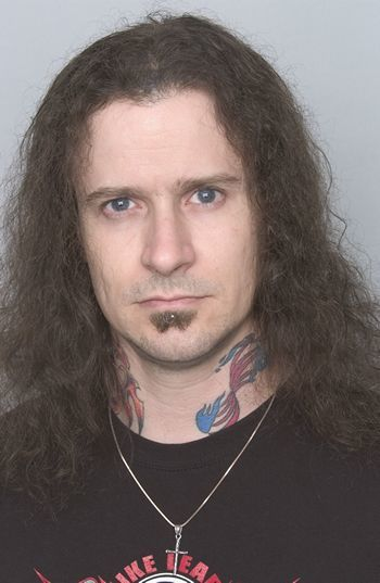 James MacDonough, former touring bassist for the American thrash metal band Megadeth