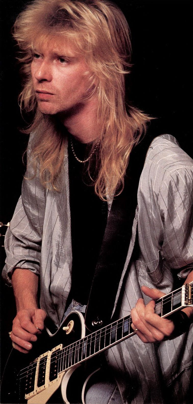 Steve Clark, co-lead guitarist and main songwriter of Def Leppard