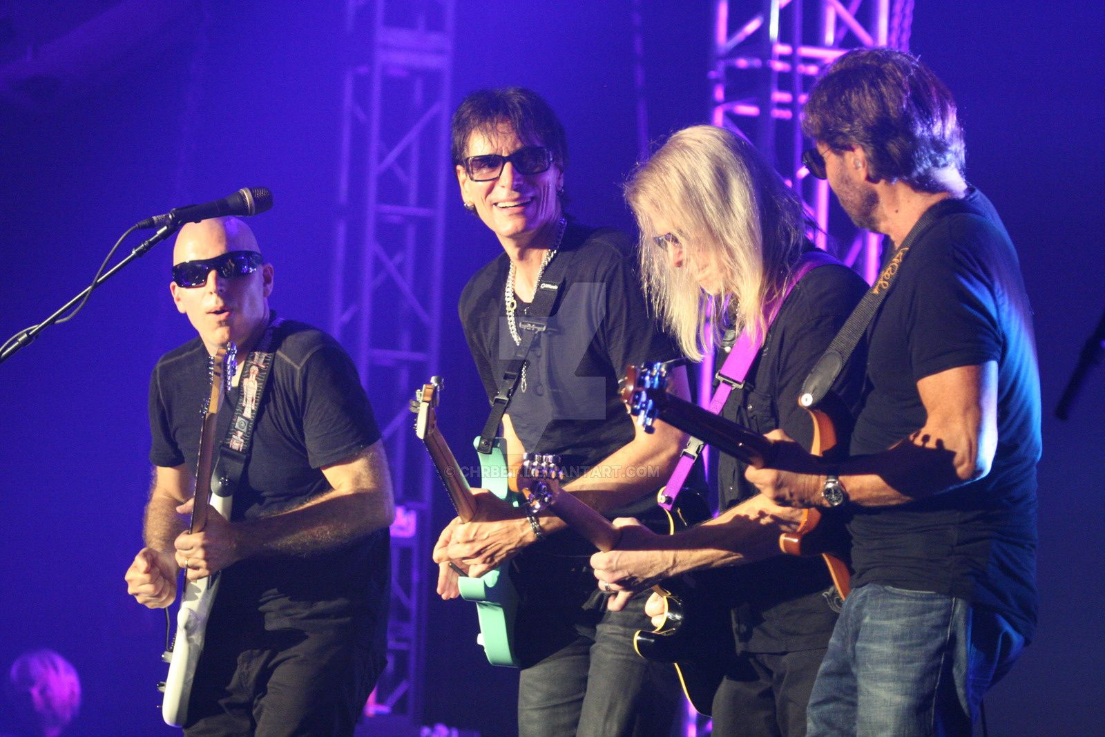 Steve Vai, Joe Satriani and Steve Morse - G3, Prague (2012)