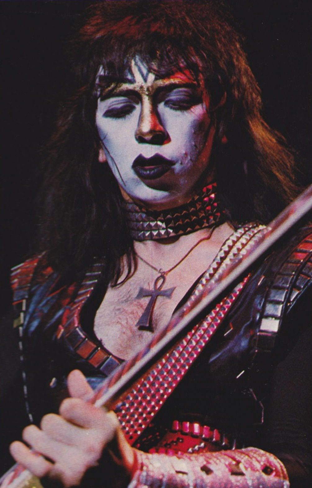 Vinnie Vincent, Creatures Of The Night Tour (1983)