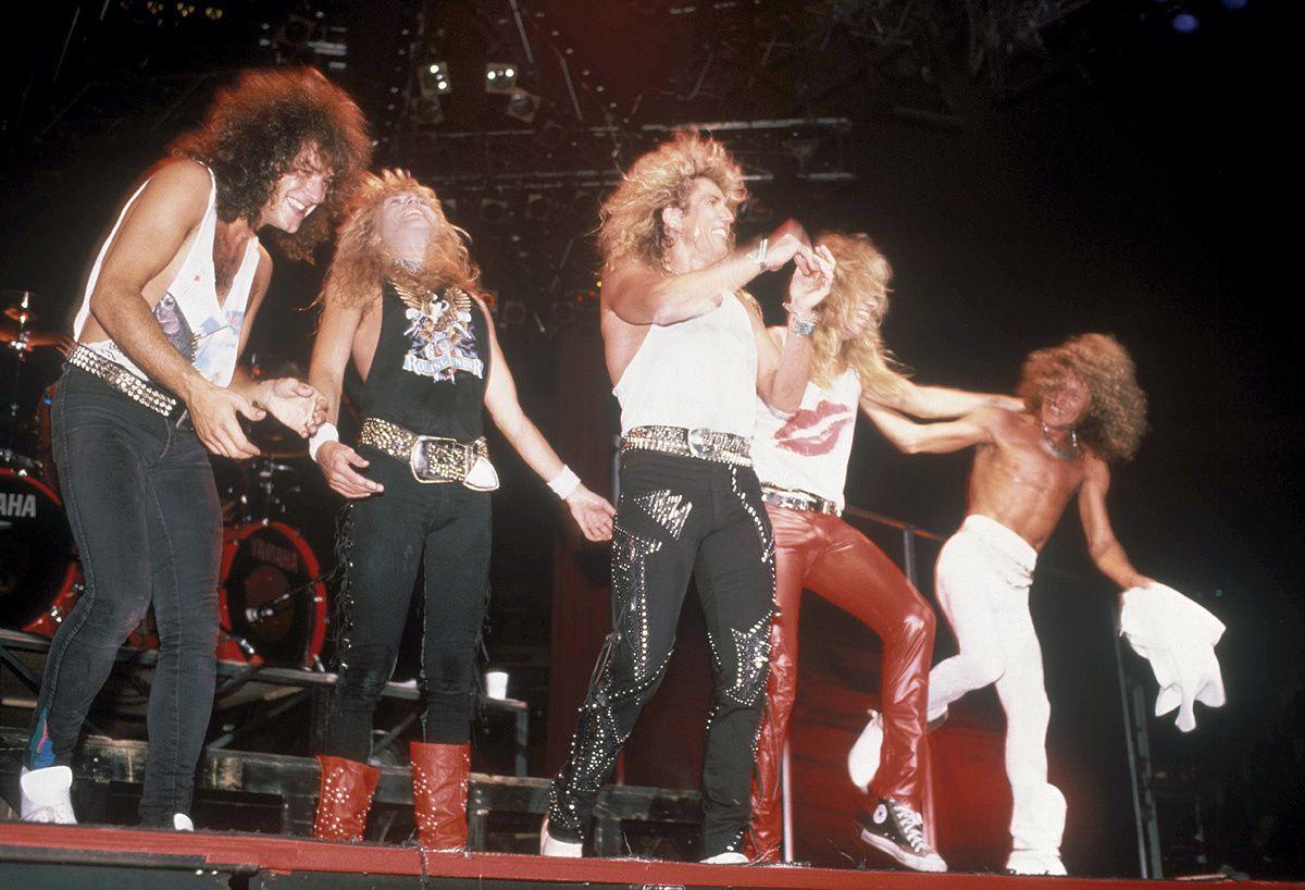 Vivian Campbell, Rudy Sarzo, David Coverdale, Adrian Vandenberg and Tommy Aldridge - Whitesnake (1987)