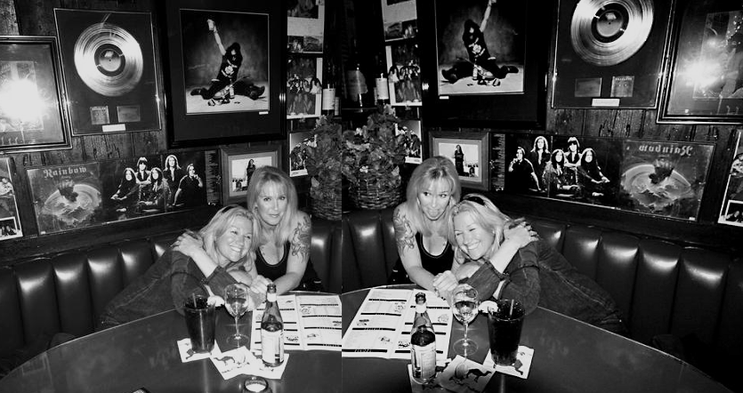 Jackie Fox, Victory Tischler-Blue & Lita Ford at the Rainbow Bar & Grille (2008)