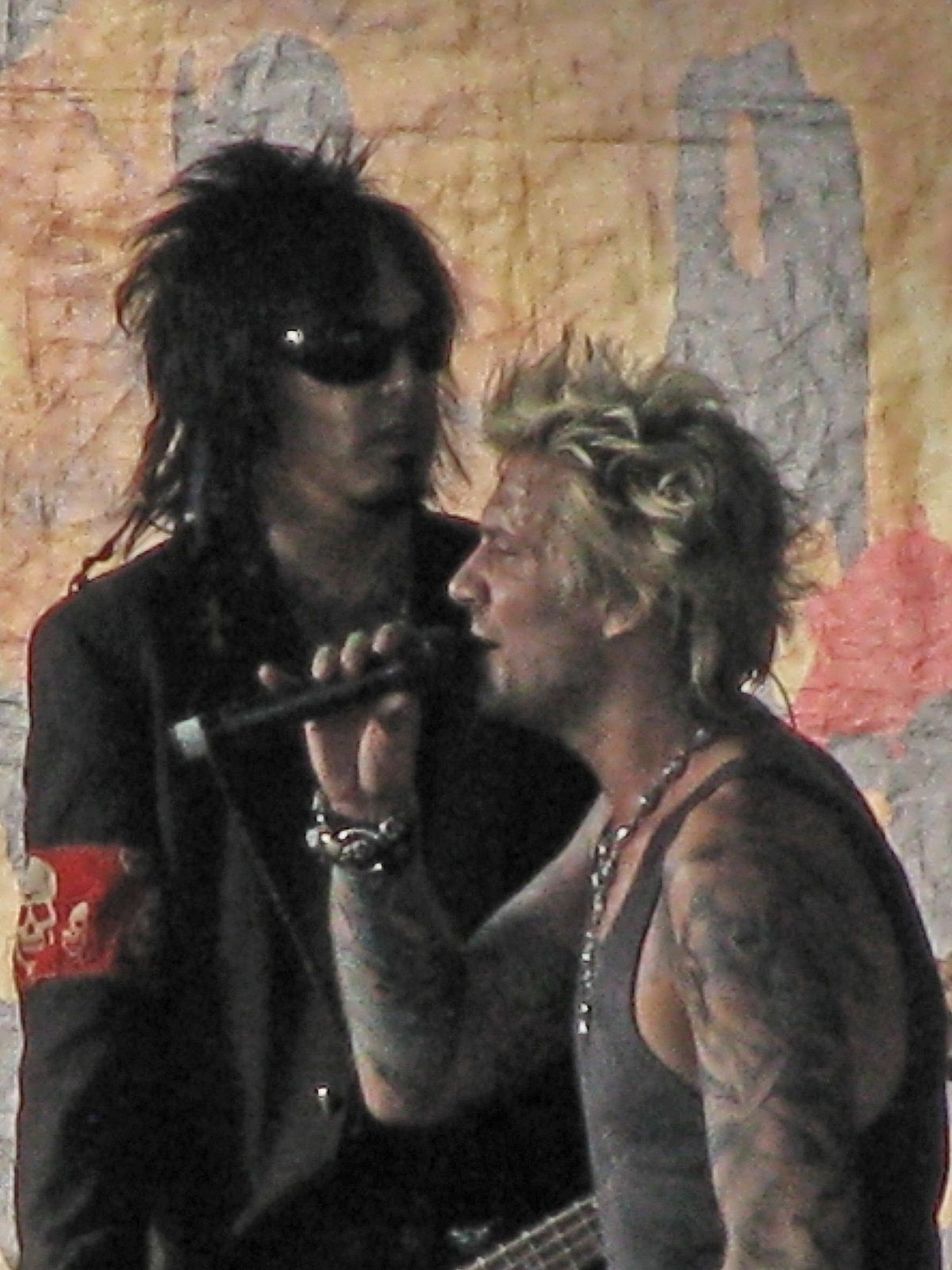 James Michael and Nikki Sixx, SixxA.M. - Photo by Kevin Borland/flickr