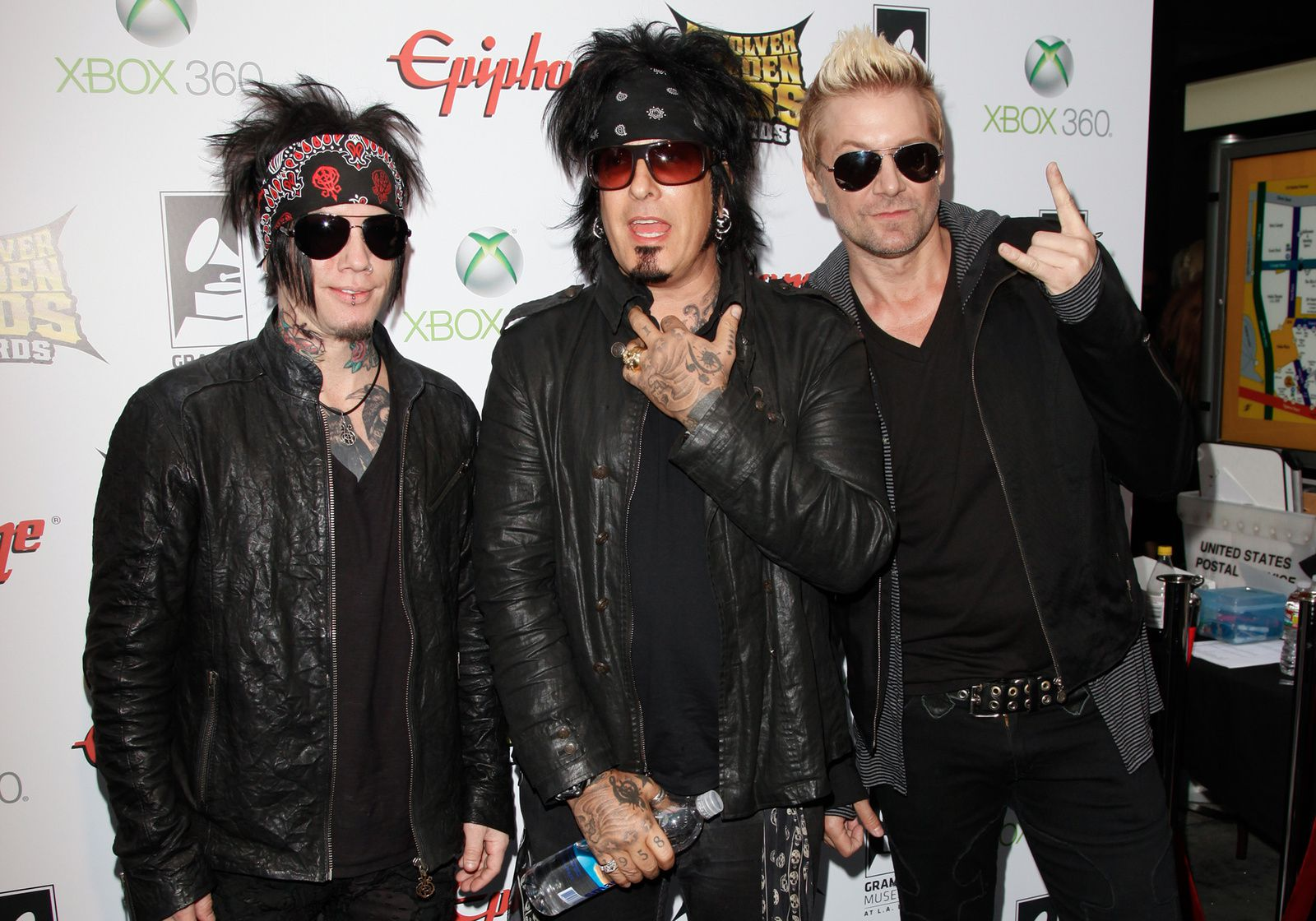 James Michael, Nikki Sixx and Dj Ashba, Sixx:A.M. (2012) - credit: MTV