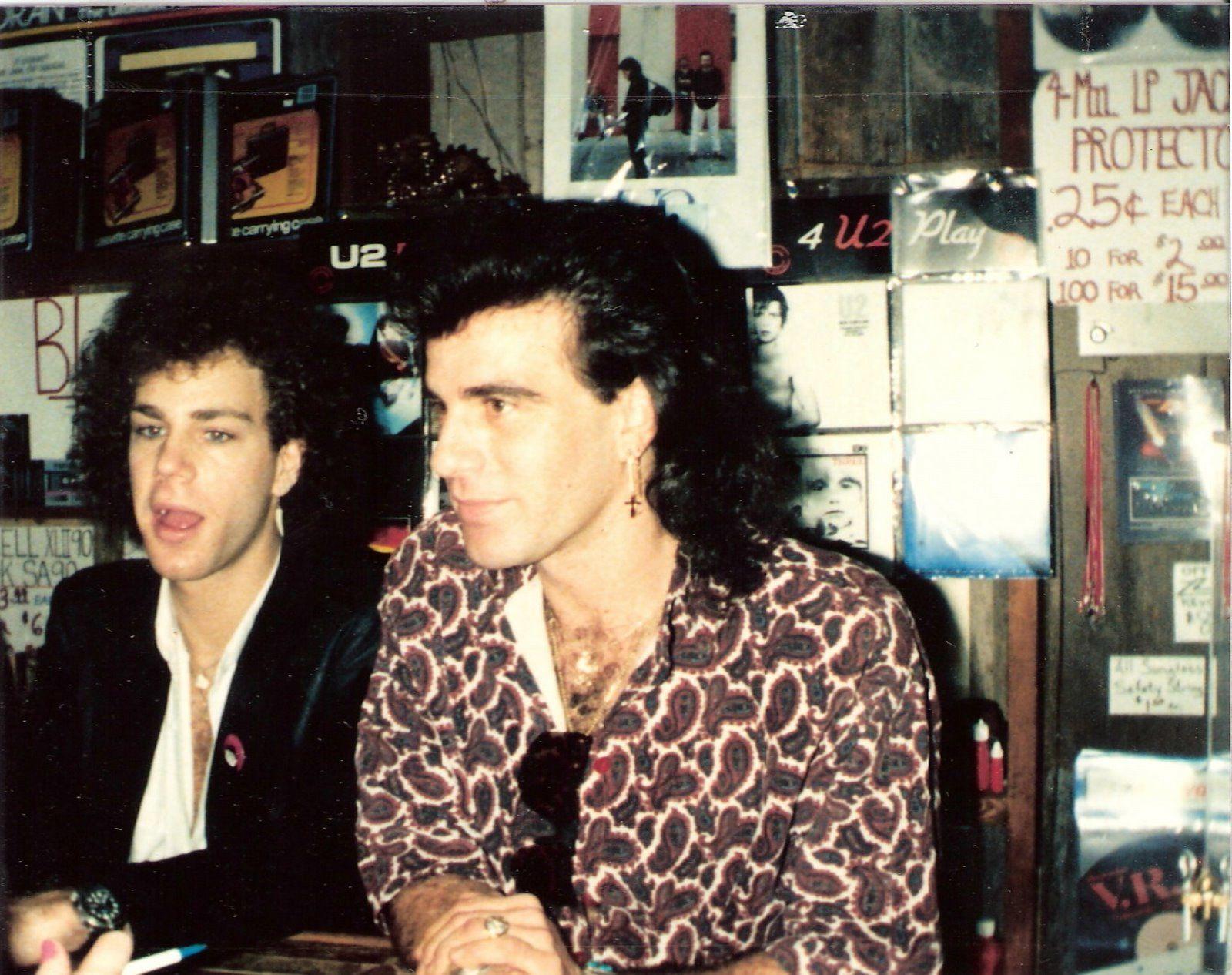 Tico Torres and David Bryan, Bon Jovi (1985)