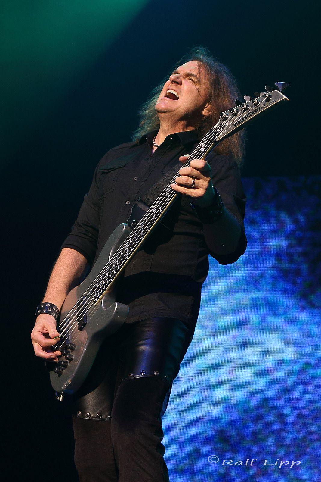 David Ellefson, Megadeth (2014)