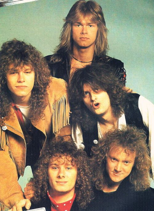 Ingo Schwichtenberg, Markus Grosskopf, Michael Kiske, Michael Weikath and Kai Hansen - Keeper of the Seven Keys Part 1 (1987 - Helloween)