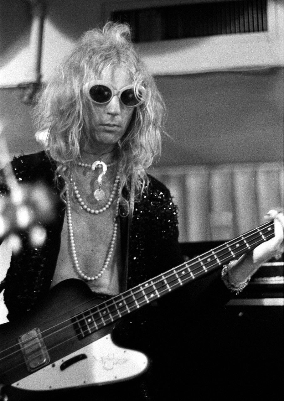 Arthur Kane, bassist and founding member of the New York Dolls in 1971