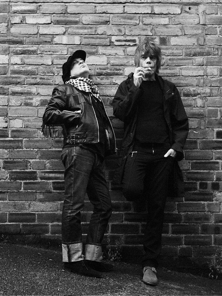 Sylvain Sylvain and David Johansen of the New York Dolls - by Anna Victoria Best (2006)