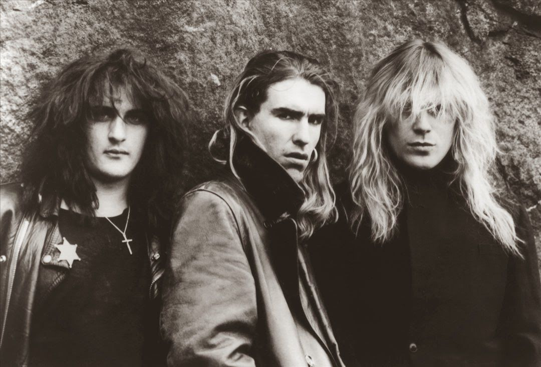 Jason Harris, Justin Sullivan and Robert Heaton - New Model Army (1989)